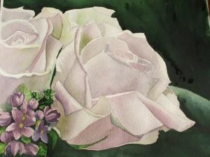 Rose e violette