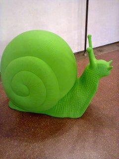 Lumaca gigante verde