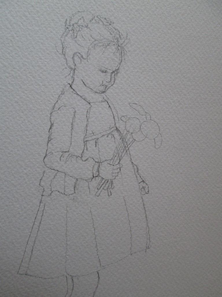 disegno bimba 2