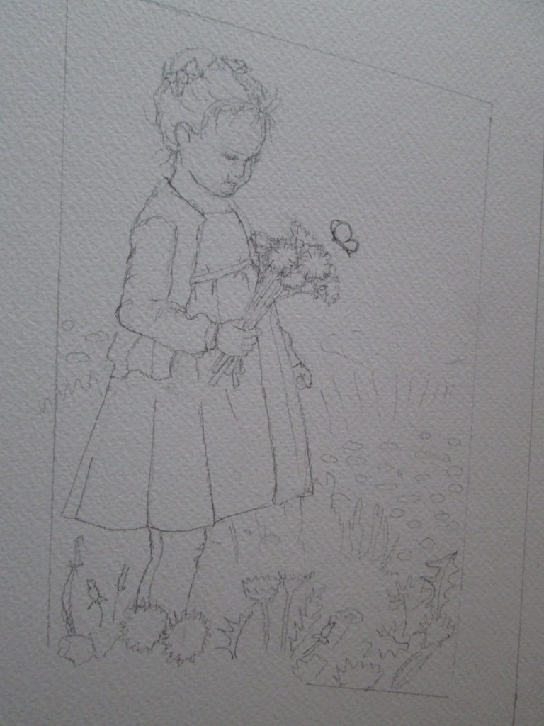 bimba disegnata 3