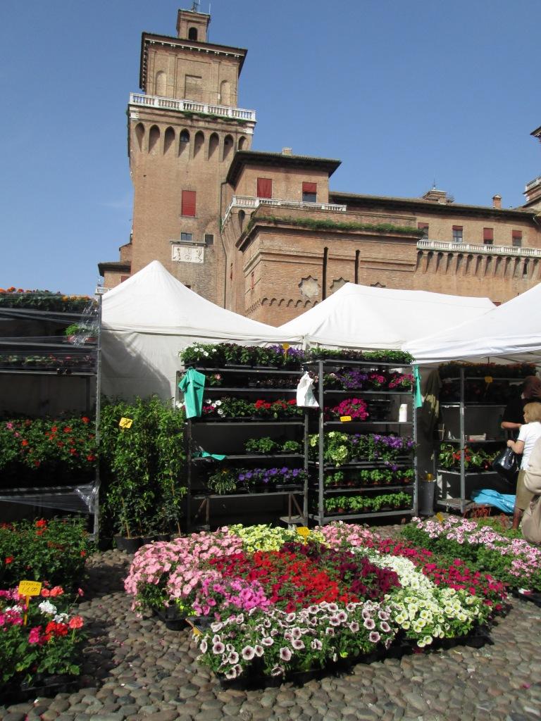 mercato fiori castello