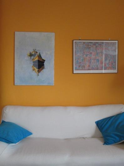 parete sopra divano