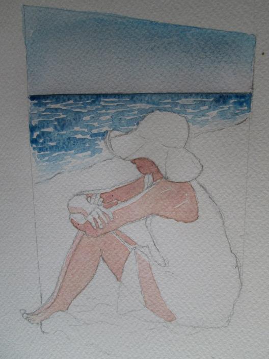 donna in spiaggia 3
