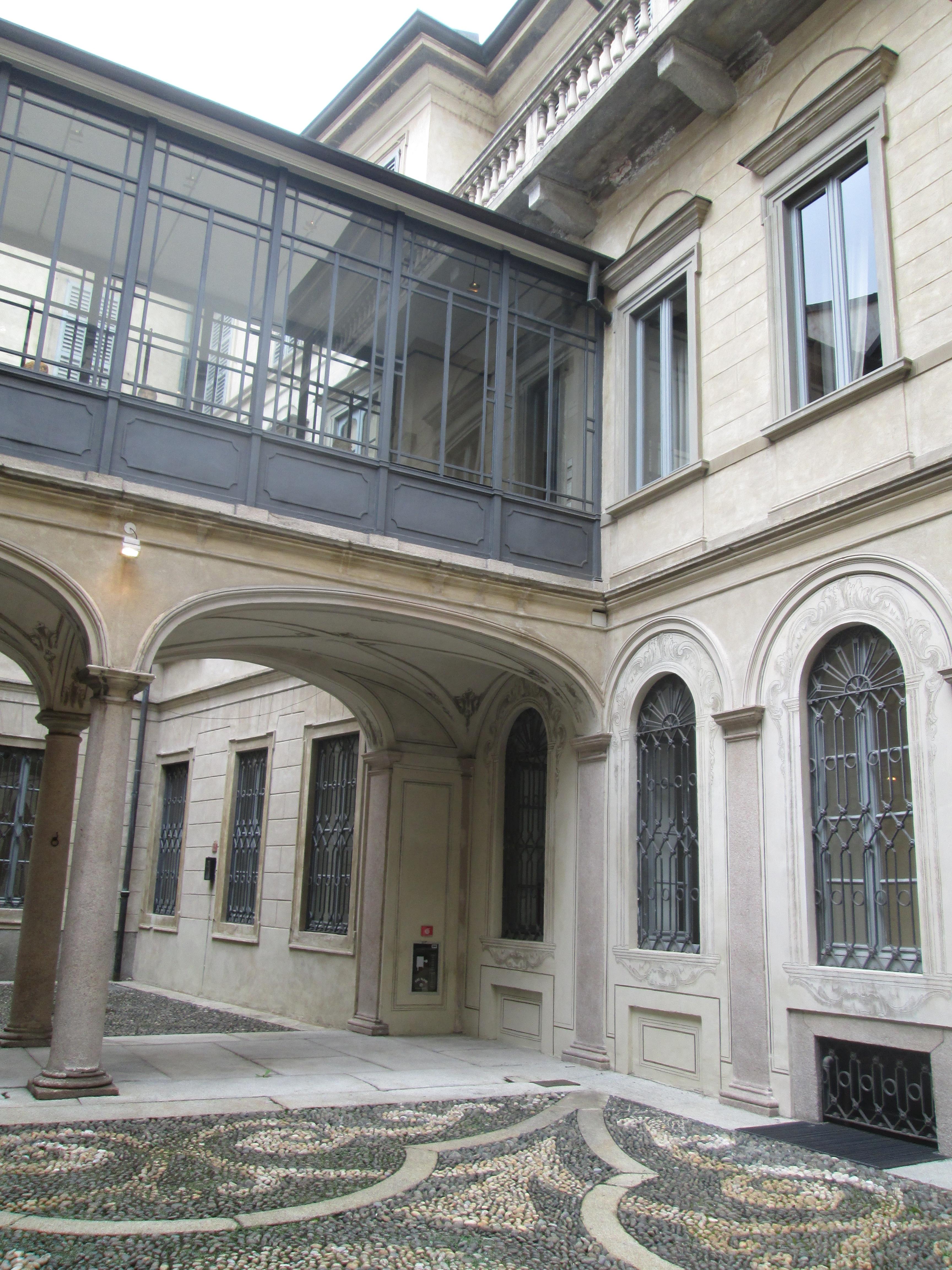 Palazzo morando a milano estri in laboratorio for Palazzo morando